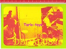 DEDALUS Italian progressive rock - postcard - cartolina Nuovo pop