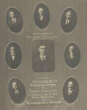 1923 ERMINGTON & RYDALMERE SYDNEY COUNCIL & MAYOR CABINET PHOTO