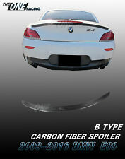 Carbon Fiber Rear Trunk Spoiler Lip Wing for 2009-2016 BMW E89 Z4 Type B