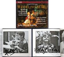 Edita GRUBEROVA, Ann MURRAY Signed HUMPERDINCK HÄNSEL UND GRETEL Colin Davis 2CD
