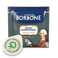 600 CIALDE ESE 44 MM FILTRO CARTA CAFFE BORBONE MISCELA NERA