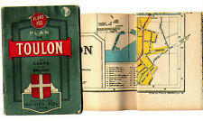 Plans POL de TOULON et sa carte 1945  VAR 83