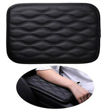 Universal Car Armrest Pad Cover Center Console Box Pu Leather Cushion Mat Black