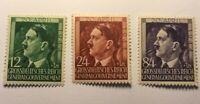 Germany Poland WW2 1944 Third Reich General Gouvernment Stamp Set MNH