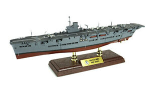 "HMS Ark Royal Aircraft Carrier 1:700 13.75"" Forces of Valor Diecast Ship Model"