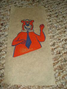 Yogi Bear Vintage Iron On Transfer Vintage
