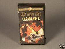 Casablanca Movie from 1943 Special Edition - VHS in Clam shell