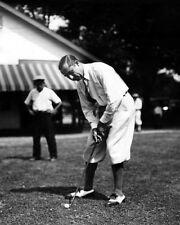 1927 Legend Golfer WALTER HAGEN Glossy 8x10 Photo Putting Poster Golf Print