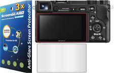 3x Anti-Glare Screen Protector Sony Alpha NEX-7 A5000 A5100 A6000 A6300 A6500