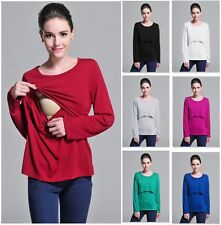 Breastfeeding Top 8-18 Polyester Long Sleeve
