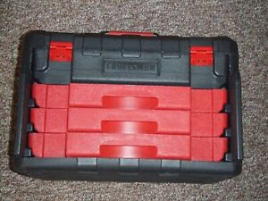 EMPTY TOOL CASE BOX CRAFTSMAN FROM 450 PC MECHANICS TOOL BOX    NO TOOLS