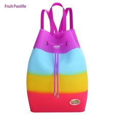 Rainbow Coloured and Scented silicon rucksack - Fruit Pastille