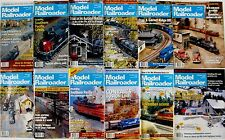 Model Railroader Magazine 1993 - 12 Issues - Complete Full Year