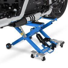 4 blocchi di gomma Ponte Sollevatore Cavalletto Alza Moto Lift Idraulico ConStands XL nero incl