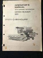 New Holland Operator's Manual Grain Header 960 *491
