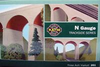 Three Arch Viaduct - N gauge Ratio 251 Free Post P3