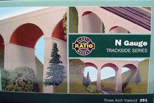 Three Arch Viaduct - N gauge Ratio 251 P3