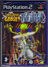 PS2 Inspector Gadget Mad Robots Invasion (2003) UK Pal, New & Factory Sealed