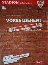 Programm 2010/11 VfB Stuttgart - FC Kaiserslautern