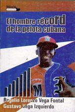 EL HOMBRE RECORD PELOTA CUBANA  Beisbol  Baseball Stars Cuba ENRIQUE DIAZ