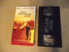 What Dreams May Come (VHS, 1999) Robin Williams, Cuba Gooding Jr, Anna Sciorra