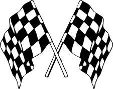 Sticker adesivi adesivo auto tuning bandiera scacchiere scacchi f1 formula una
