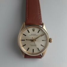 34 mm Rolex Oyster Perpetual Automatic18 k gold wristwatch ref.6567 cal 1030
