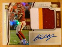 2019 Certified Dwayne Haskins /199 Freshman Fabric 3 Color Rookie Patch Auto
