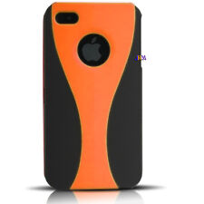 Wine Cup Shape 2 Piece Snap  Rubber Coated Hard Case Cover for iphone 4