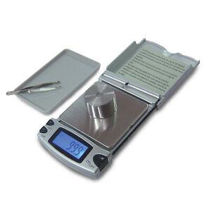 Taschenwaage Pocketscale Feinwaage Präzisionswaage Supplements bis 200g / 0,1g