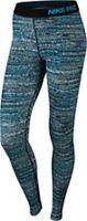 Nike Pro Warm Static Women's Tights   Blue Lagoon/Black  683713 407