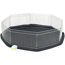 Me & My Pet Small Playpen Cage & Floor Mat Rabbit/Guinea Pig/Hamster Garden Run