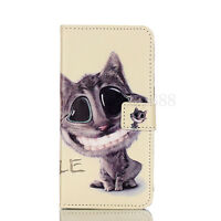 Stand Flip Leather Wallet Soft Back Case Inside Phone Cover For Various Mobile