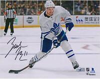 "Zach Hyman Toronto Maple Leafs Signed 8"" x 10"" White Jersey Shooting Photo"