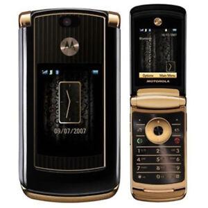 Original Motorola MOTORAZR2 V8 Unlocked 2G/512MB Luxury Edition Cellphone