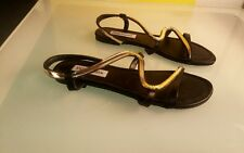Steve Madden sandals women's size 7.5 good condition Baden barely used black