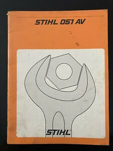 Stihl 050AV,051AV Reparatursnleitung