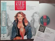 KYLIE MINOGUE On The Go-Live in Japan JAPAN Laser Disc LD ALLB-5 w/OBI+INSERT