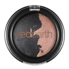 RED EARTH Baked Eye Shadow Duo 2.5g **Blue Gum/Mist** pink metallic shimmer NEW