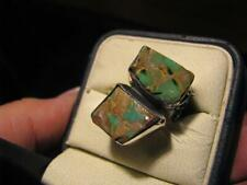 Sterling Silver Turquoise Ring Sz 8