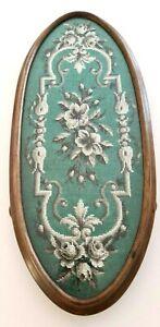 Victorian beadwork tea tray
