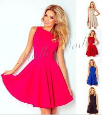 Damenkleider mit V-Ausschnitt aus Polyester in Größe XL
