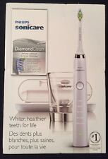 New Philips Sonicare DiamondClean White Edition Electric Toothbrush HX9332/10