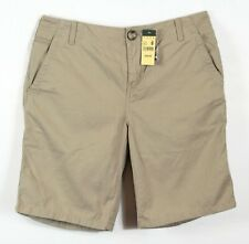 "Eddie Bauer ""Blakely"" Women's tan shorts, NWT, Sz 8, change pocket, $39.95 new"