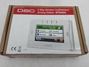 DSC 2-Way Wireless Touchscreen Arming Station WTK5504 -JD0627
