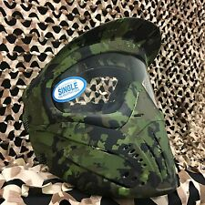 NEW JT Premise Single Pane Anti-Fog Paintball Goggle Mask - Camo