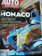 AUTO HEBDO 1548 / 31 MAI 06 : BMW Z4M COUPE GP MONACO INDYCAR INDIANAPOLIS BRNO