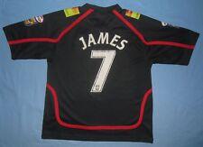 Wigan Warriors / 2007 Away - #7 JAMES - JJB - MENS rugby Shirt / Jersey. Size XL