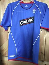 "Rangers Football Club Shirt. / Top Size Youth Chest 30"" In Blue. Good Condition"