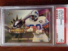 1995 Flair Barry Sanders #8 TD Power PSA 7 NM